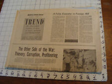 vintage Newspaper section: THE ASSASSINATION BOOKS (kennedy) 11-13-66