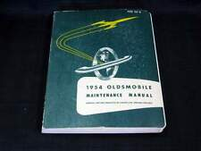 1954 OLDSMOBILE Car Shop Service Manual ORIGINAL