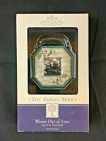 "Hallmark Keepsake Ornament The Family Tree ""Woven Out Of Love"" Photo Holder"
