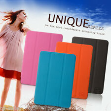 Apple iPad Mini 1 2 Cover Case Magnetic Smart Skin Flip Case PU Leather