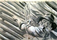2008 Topps Indiana Jones Masterpieces Sketch Card CHRIS HENDERSON ONLY 10 MADE