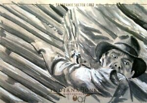 2008 Topps Indiana Jones Masterpieces Sketch Card CHRIS HENDERSON ONLY 10 MADE!