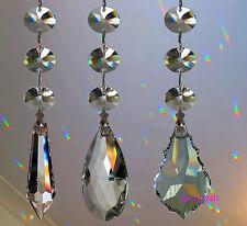 Suncatcher appendere cristallo prisma ARCOBALENO feng shui FULL lead SPUMANTE REGALI