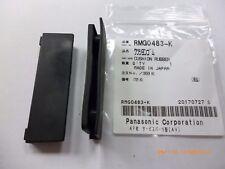 PAIR Technics SL-1200 SL-1210 Hinge Lid Cover Rubber Cushion Blank, RMG0483-K