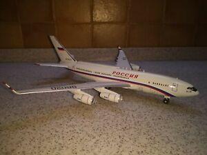 Ilyushin IL-96-300PU(M1) RA-96020 Rossiya scale collectable model 1/200