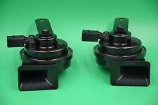 Pair Horn Woofer HELLA FIAMM For Audi A4 A5 A6 Q5 VW JETTA PASSAT CC