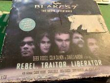 More details for blakes 7 the audio adventures box set cds - rebel traitor liberator