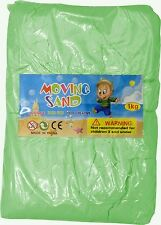 Magic Motion Moving Sand 1kg Play Pen Dry Children Toy Stays Dry GREEN