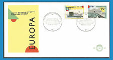 Nederland Pays-Bas 1987 1288-89 FDC Europa - Architecture moderne