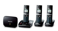 Panasonic KXTG8033ALB Cordless Phone with 3 Handsets