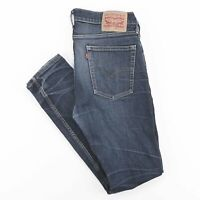 LEVI'S 510 Skinny Straight Fit Mens Blue Jeans W33 L29