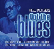 GOT THE BLUES 4 CD ALBUM SET (Released June 1st 2018)