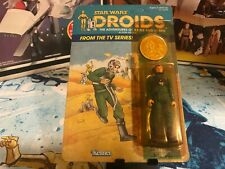 1985 Kenner Star Wars Droids TV Series A-Wing Pilot Action Figure MOSC