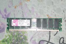 Kingston kvr400x64c3a 512 MB 400MHz PC3200 DDR CL3 DIMM Desktop Memory