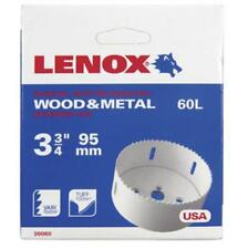 Lenox 3006060L Speed Slot Bi-metal Hole Saw 3-3/4 Inch 1/box