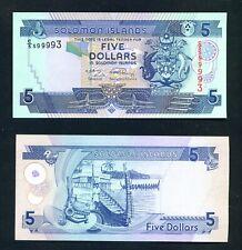 SOLOMON ISLANDS  - 2009 $5 UNC Banknote