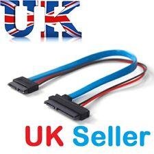 SATA 5 V Cable Serial ATA 22 Pin 7+15 to Slimline SATA 13 Pin 7+6 F/F Connector