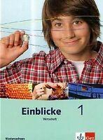 Einblicke Wirtschaft. Schülerbuch 7./8. Schuljahr. Ausga... | Buch | Zustand gut