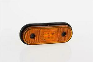 12/24V AMBER SIDE LED clearance marker light lamp with cable van truck traile...