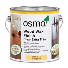 Osmo Wood Wax Finish Clear Extra Thin 1101 750ml