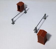 Outland Models Train Railway Diorama Guard Post Set x2 HO OO Scale fit 1:72 1:76