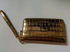 Michael Kors Gold Wristlet NEW WITH TAG