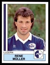 Panini Football 88 (Swiss) Rene Muller Luzern No. 107
