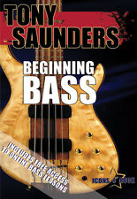 Learn Bass Guitar Lesson Video For Beginners - Brand New DVD 4 and 5 String Bass