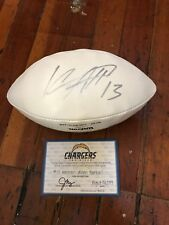 Keenan Allen Signed Football Chargers Authentication