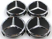 4 pcs Mercedes Benz Cache Moyeu AMG W117 CLA45 W205 C63 W207 W176 A45 X156 GLA45