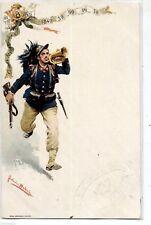 FORTUNINO MATANIA 8° Regg. Bersaglieri Trombettiere WWI PC Circa 1900