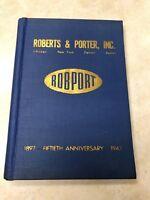 1947 Roberts & Porter Equipment Supplies & Chemicals Catalog - Graphic Arts