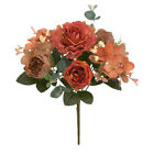 Artificial Peony Flowers Silk Fake Flower Wedding Party Home Decoration Bouquet