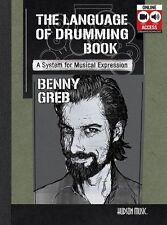 Benny Greb The Language Of Drumming Learn to Play DRUMS Music Book/Online Audio