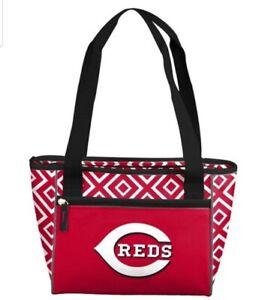 Cincinnati Reds Insulated Lunch Cooler Tote Bag