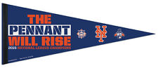 NEW YORK METS 2015 NL Champs, World Series Premium Felt Collectors PENNANT