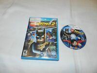 LEGO Batman 2 DC Super Heroes Nintendo Wii U Game Tested