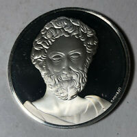 St. Peter, The Genius of Michelangelo 1.26oz Sterling Silver Medal
