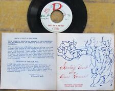 KANSAS CITY CHRISTMAS 45 on R label No. 1 with fold-out booklet F.J. RENNAU
