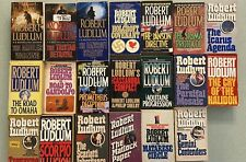 20 Robert Ludlum Paperback Book Lot - See Pics for Titles