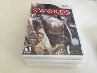 Swords (Nintendo Wii, 2010) Wii NEW!