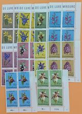 Luxembourg 10 Blocks of 4 Stamps Semi Postals MNH