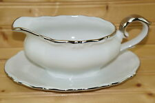"""Winterling WIG822 Gravy Boat or Sauce Bowl with attached Underplate, 8 3/4"""" x 6"""""""