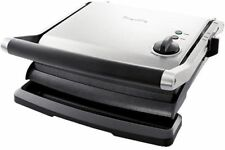 Breville BGR250 the Adjusta Grill and Press Contact Grill - Silver
