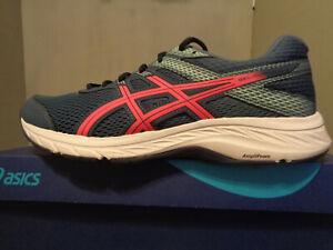 ASICS Women's GEL-Contend 6 Running Shoe/s NIB! New! Size 11 Wide Blue/Pink