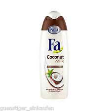 (19,56 €/L ) 250ml FA Lait Crème de douche SOIGNANT & Frais NOIX COCO EXTRAIT