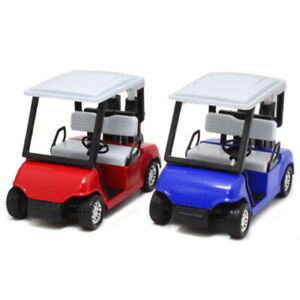 Desktop Decor Ornaments Miniature Scale Model Car Golf Cart Souvenir Pull Back