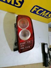 NISSAN MICRA 2003-2005 REAR/TAIL LIGHT ON BODY ( DRIVERS SIDE)