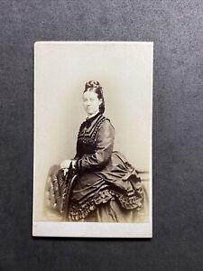 Victorian Carte De Visite CDV: Pretty Young Lady: Gilchrist: Edinburgh