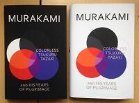 Haruki Murakami,Colorless Tsukuru Tazaki and His Years of Pilgrimage 2 BOOKS 1/1